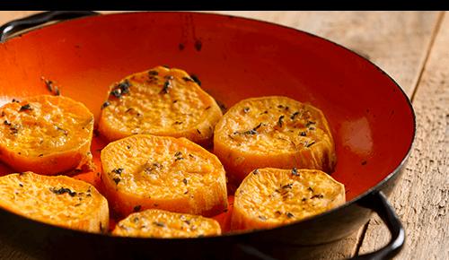 Unsweetened Sweet Potatoes