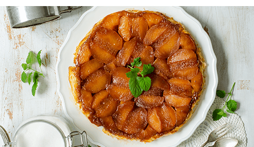 Souffléed Apple Pancake