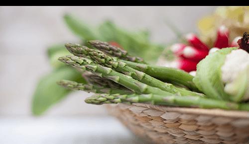 Asparagus Vegetable Basket