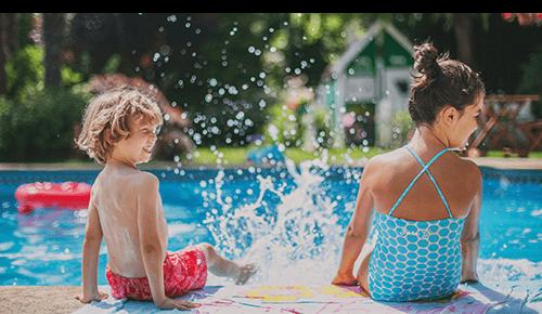 Summer Children Pool Water Safety