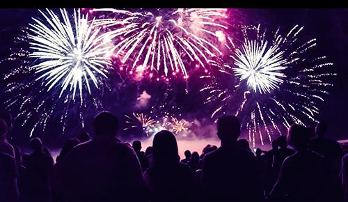 Summer Family Fireworks Safety