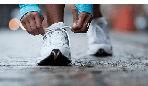 Exercise for Good Health Running Shoes