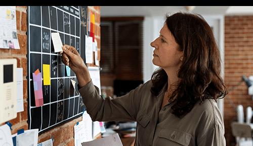 Planning the Week Wall Calendar