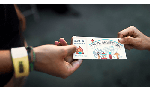 Ticket to Amusement Park
