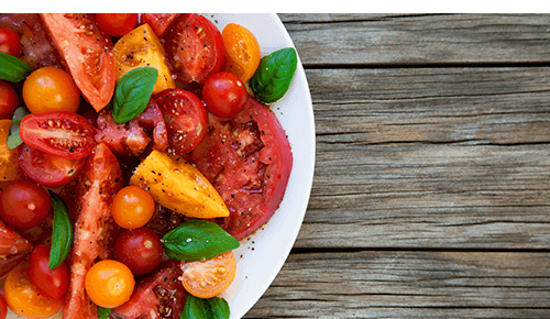 Potluck Vegetable Tomatoes
