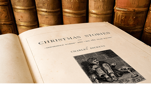 Charles Dickens holiday book