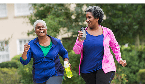 Preventing Injury in 60s Women Walking