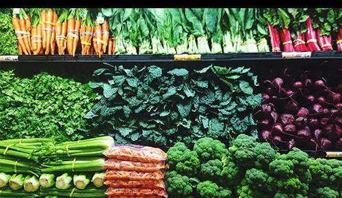 Choose In-Season Produce Variety of Vegetables
