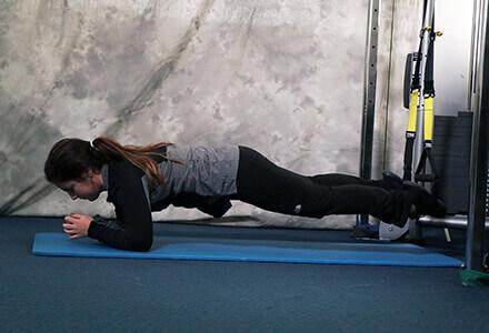 Plank TRX Exercise