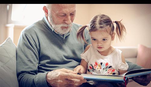 Reading to Baby Toddler