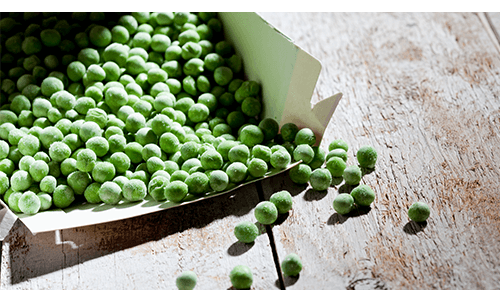 Stock Up on Canned Frozen Foods Frozen Peas