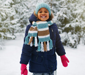 cold weather safety for kids