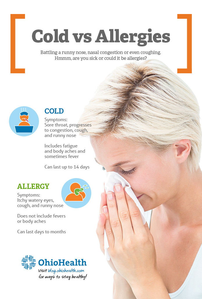 Cold vs Allergies
