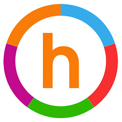 Logo for Happify App