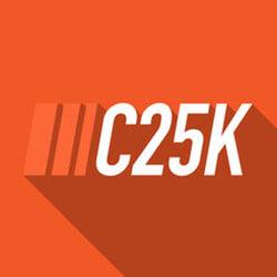 Logo for C25K Fitness App
