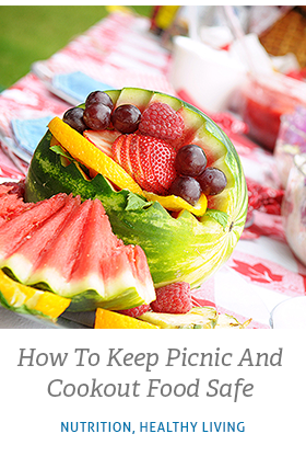Read related article called How to Keep Picnic and Cookout Food Safe