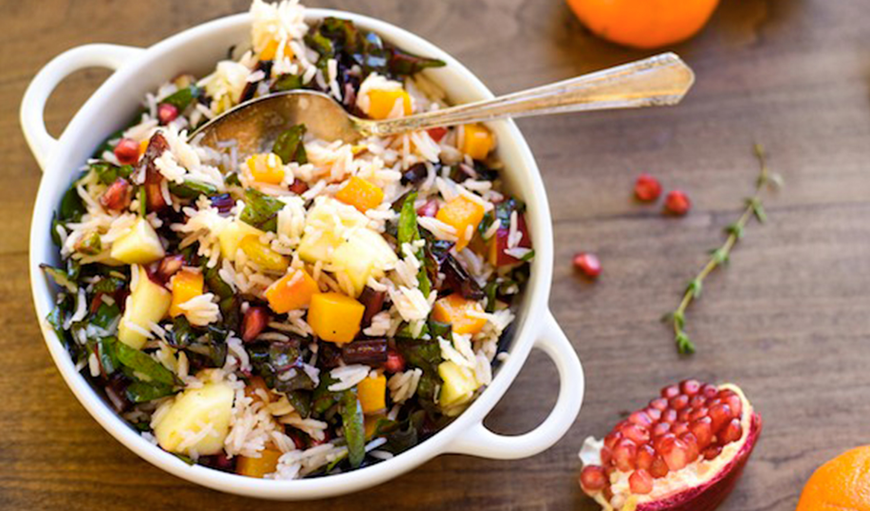 Autumn Celebration Rice Salad