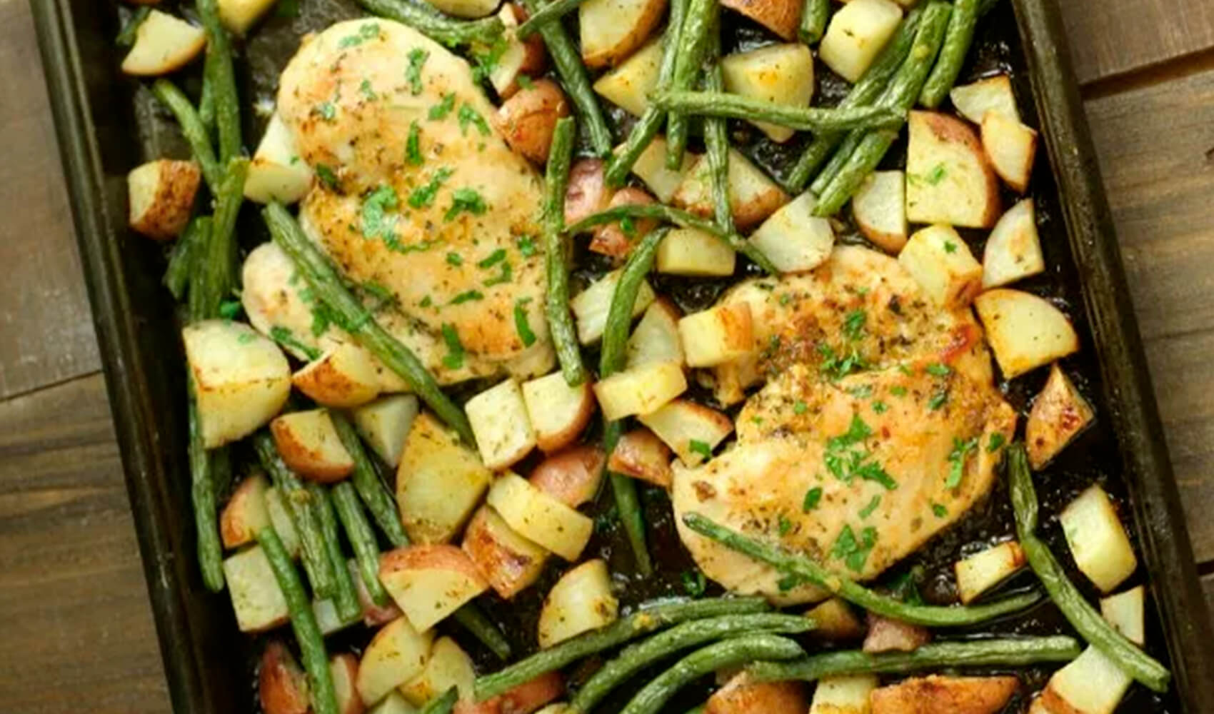 One-Pan Honey Garlic Chicken & Veggies
