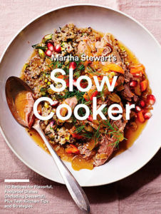 Book cover of Slow Cooker by Martha Stewart