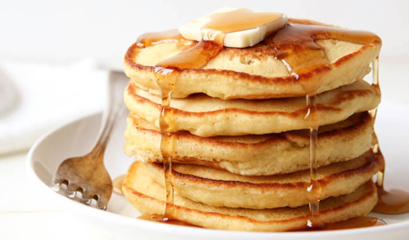 Non-Diary Hemp Pancakes
