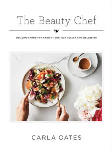 Book cover of The Beauty Chef by Carla Oates