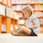 Child Reading Bookstore Books