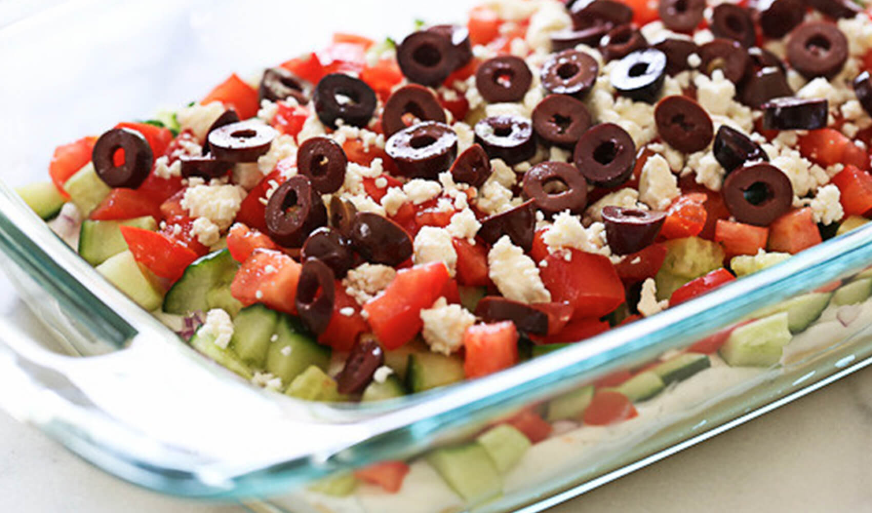 Greek 7 Layer Dip