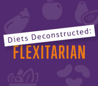 Infographic that says Diets Deconstructed: Flexitarian