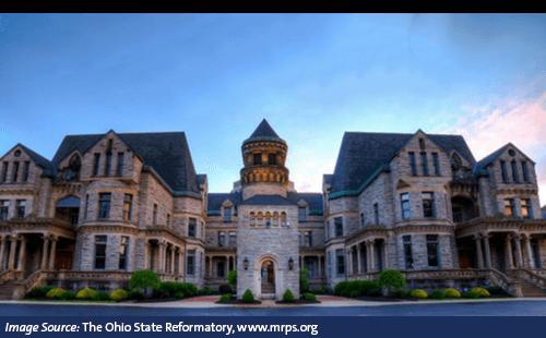 The Ohio State Reformatory in Mansfield, Ohio