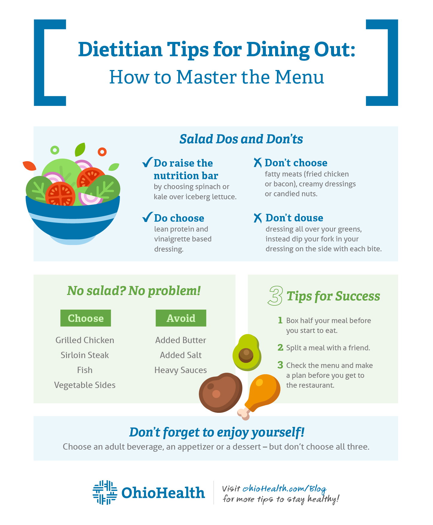 Dietitians Tips for Dining Out