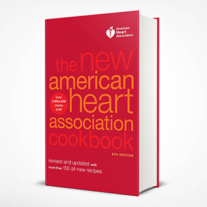 The New American Heart Association Cookbook healthy cookbook