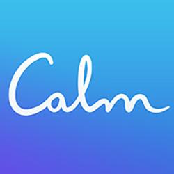 Logo for Calm Meditation Relaxation App