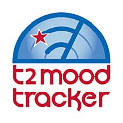 Logo for T2 Mood Tracker Mental Health App