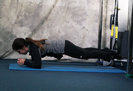 Plank TRX Exercise