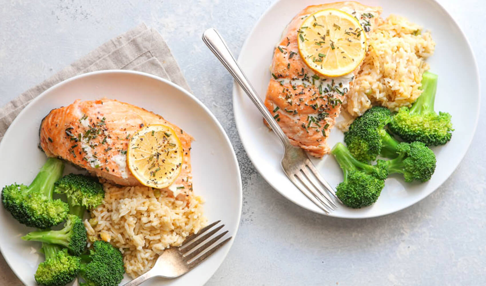 Simplest Lemon-Herb Roasted Salmon