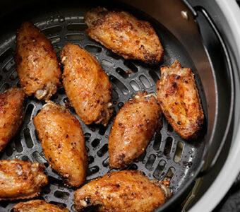Chicken wings in air fryer