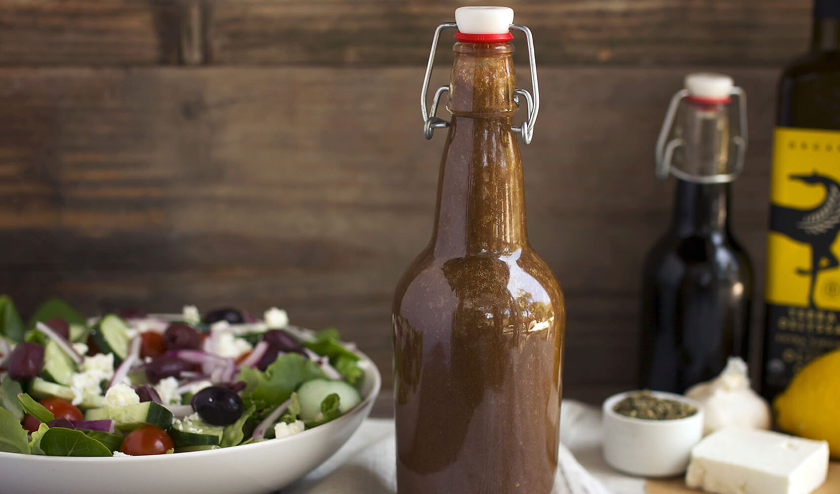 Dad's Greek Dressing