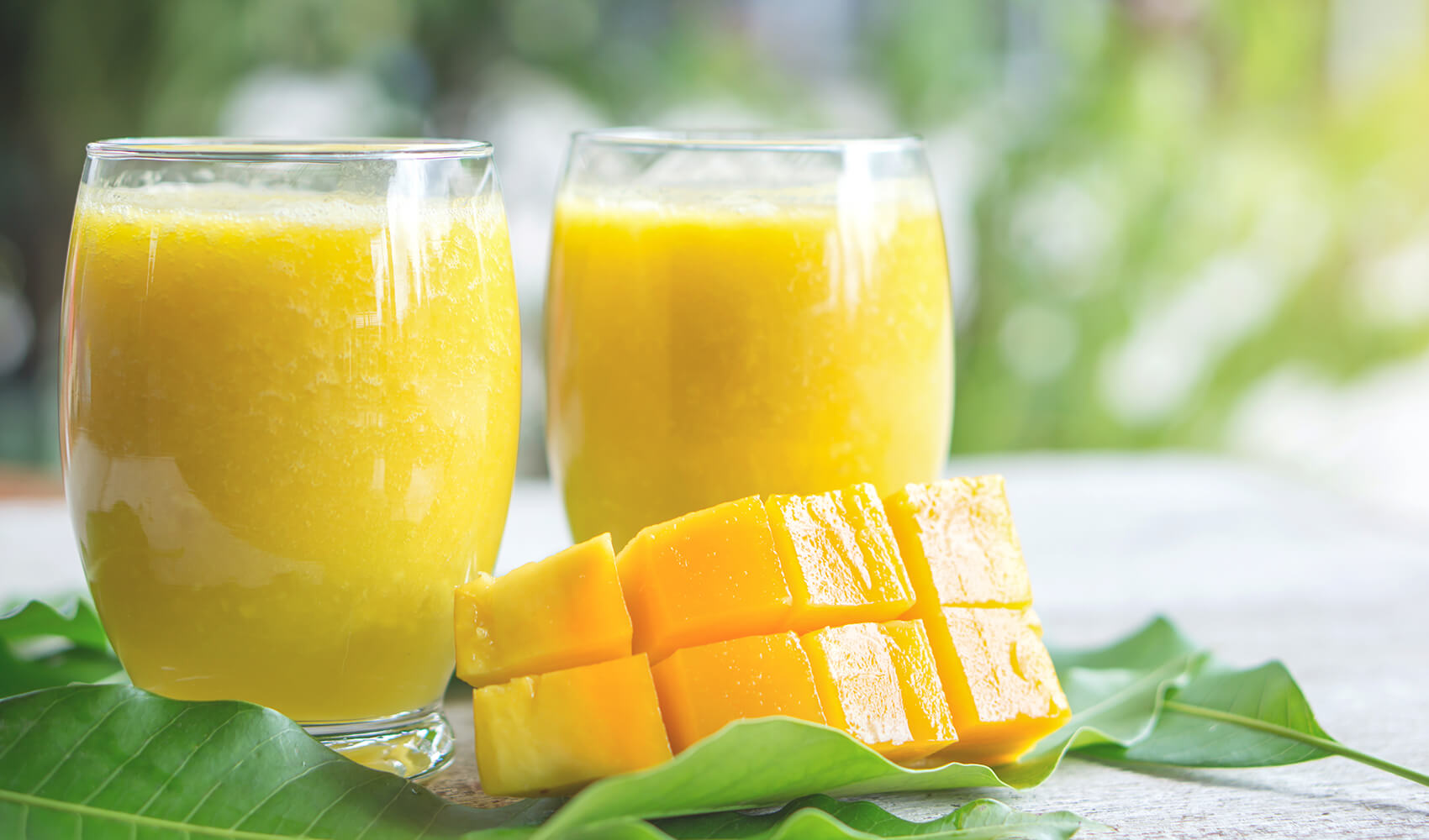 Mango-Pineapple Slushie