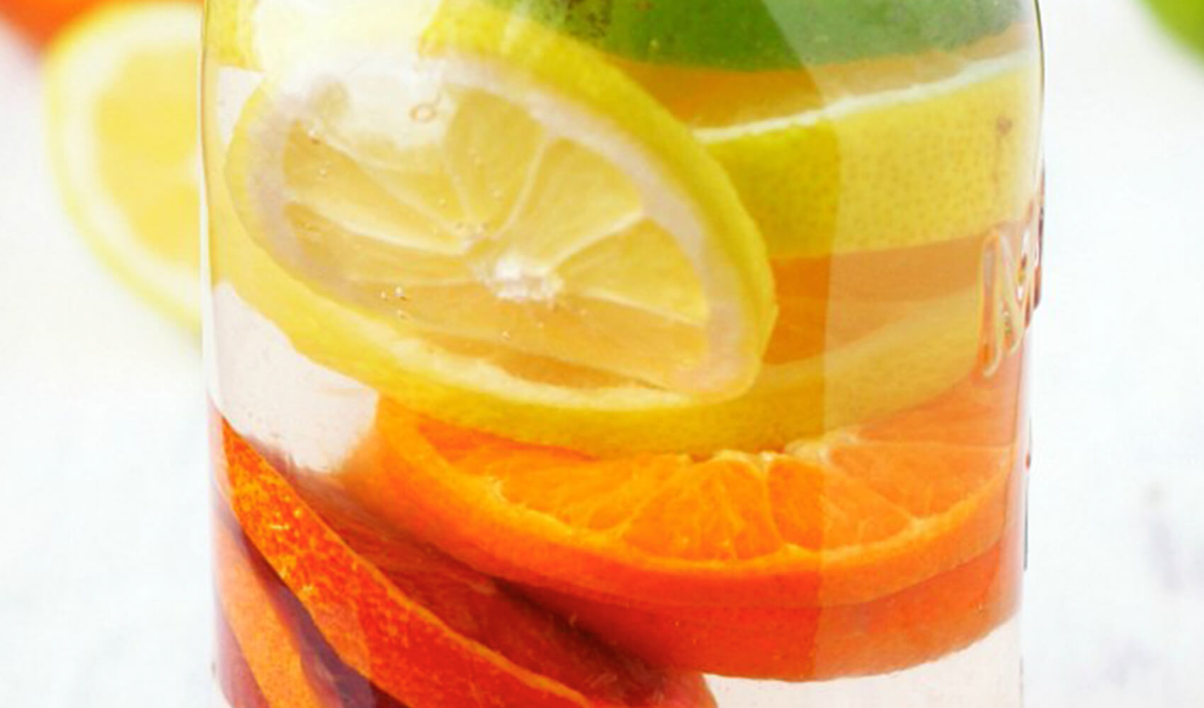 Rainbow Citrus Infused Water