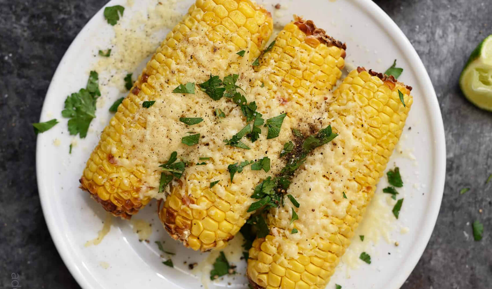 Air Fryer Mexican Street Corn