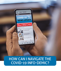 Go to Fast Facts page about the COVID-19 info-demic