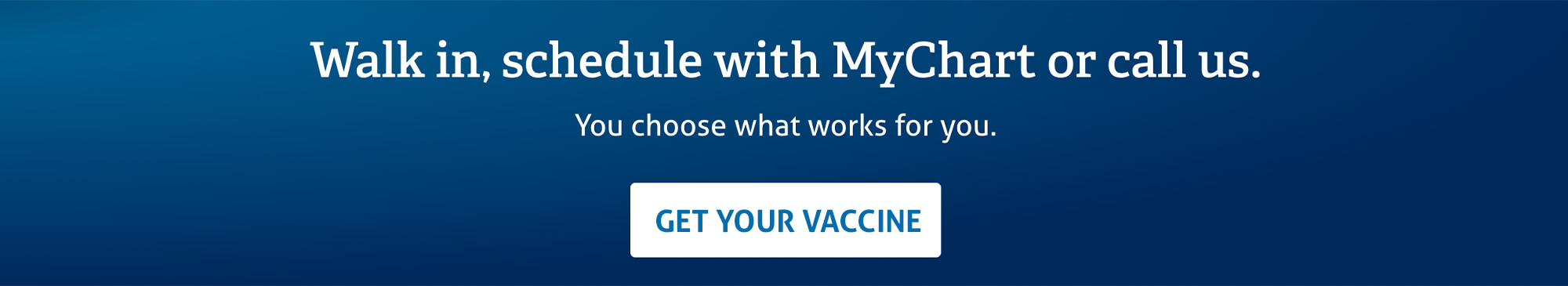 Go to the COVID-19 vaccine scheduling landing page