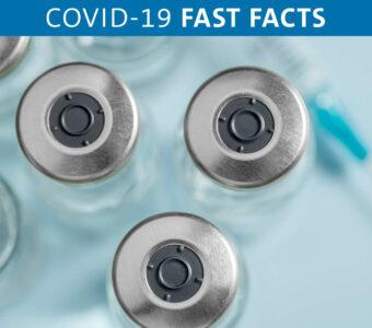 Vials of COVID-19 vaccines