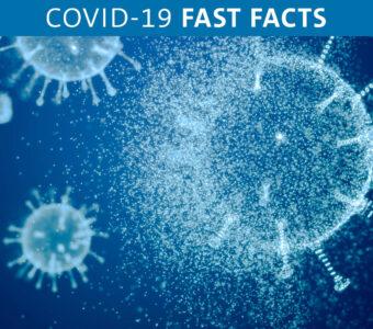 Illustration of COVID-19 virus